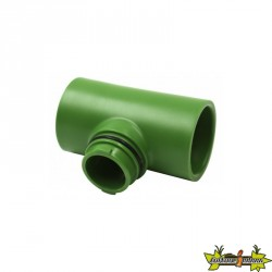 """FLORA PIPE FITTING 3-4"""" T FLORAFLEX"""