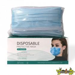 Masques jetables - 3 plis - Boite de 50 masques