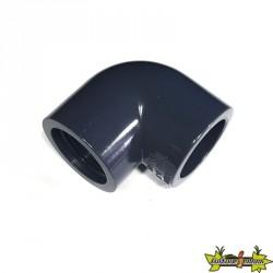 COUDE 90° PVC DIAM. 32MM A VISSER