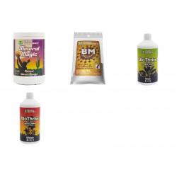 Terra Aquatica GHE - Pack engrais BioSevia 2 (1ltr)