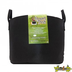 Smart Pot Original - 3 Gallon 10L - Poignéés Noir - Pot géotextile