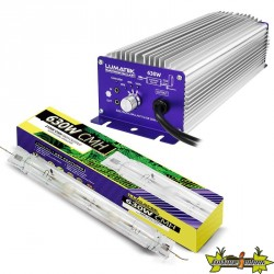 Lumatek : KIT CMH Contrôlable 630W (Ballast + Ampoule Double Ended 3100K)