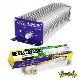 Lumatek - Kit CMH Contrôlable 315W (Ballast + Ampoule 4200K)