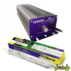 Lumatek - Kit CMH CMD Double ended 630W - Ballast + Lampe 3100K