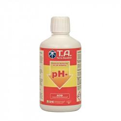 Terra Aquatica GHE - PH Down 500ml acide régulateur de ph , alcalinité , général hydroponics