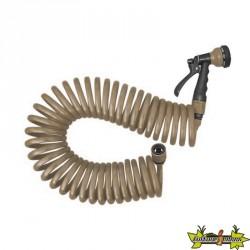 Jardibric - Pistolet serpentin 15M Eva - 10mm - Raccord taupe