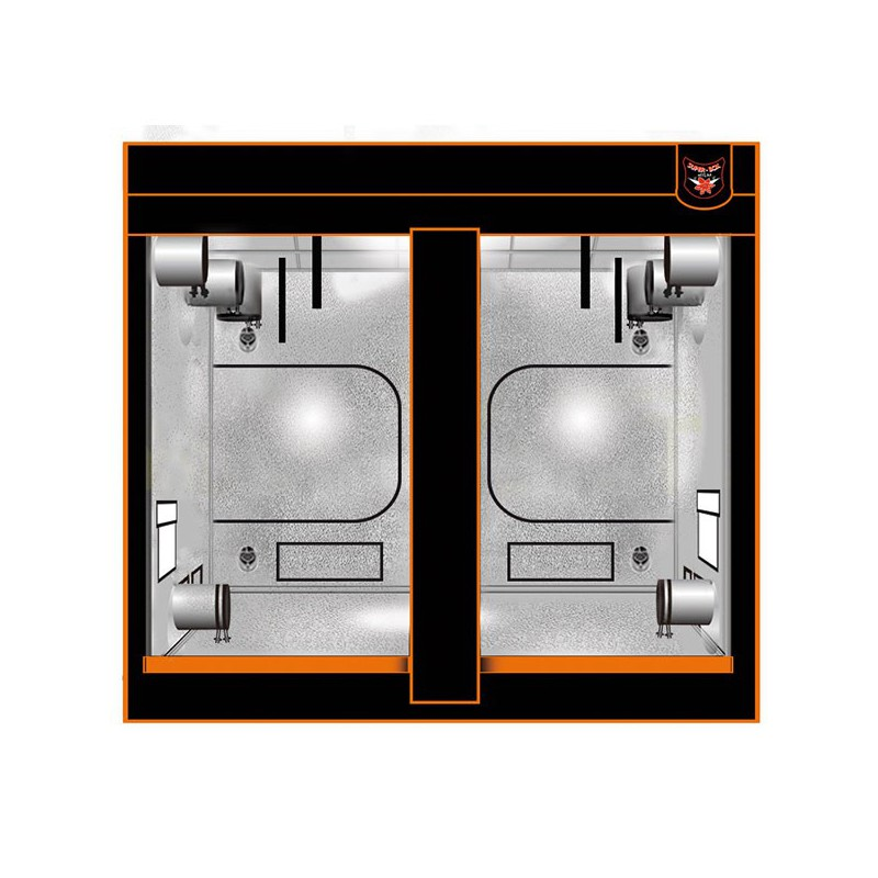 superbox chambre de culture mylar 240xl v2 240x240x200 cm armoire de culture superbox 549. Black Bedroom Furniture Sets. Home Design Ideas
