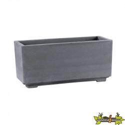 Hairie-Grandon - Bac rectangle sur pied - Long 92cm - Anthracite