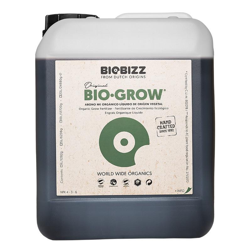 Engrais Activateur de sol Bio Grow 5 L - Biobizz