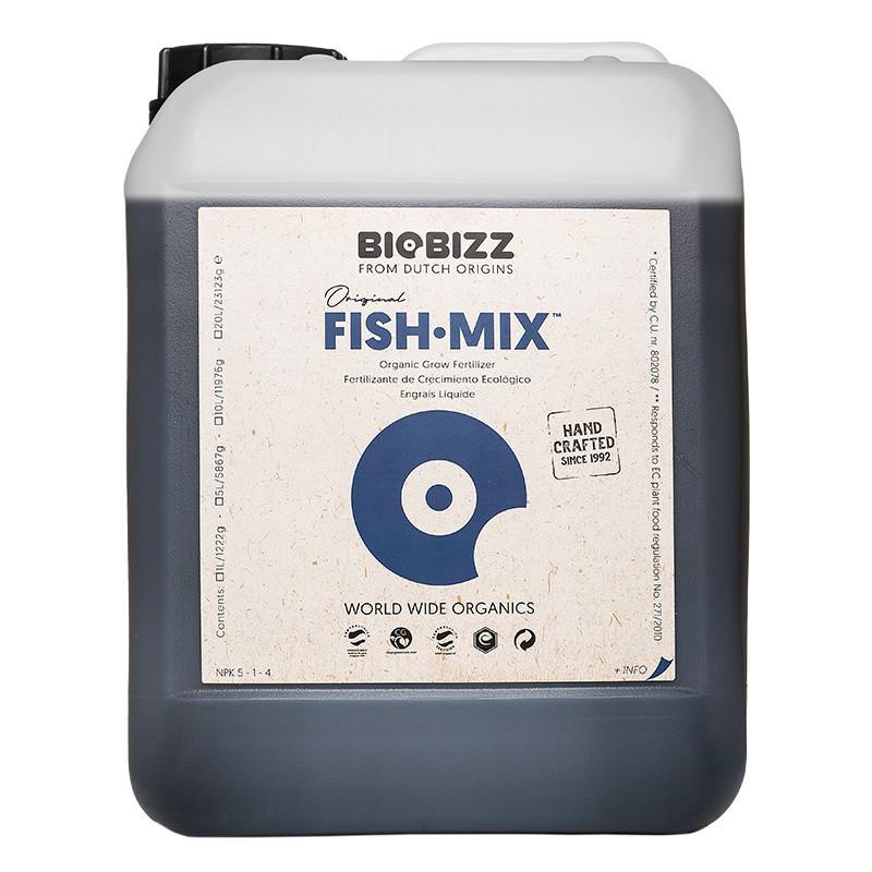 Engrais stimulateur de croissance Fish Mix 5 L - Biobizz