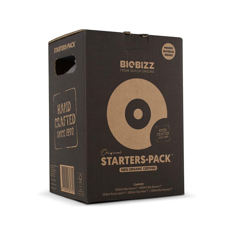 Starter Pack fertilisant Biobizz , pack complet engrais et booster