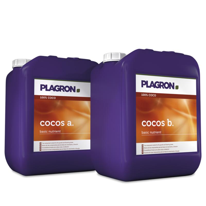 Plagron - Coco A+B 5L , engrais de croissance et floraison pour la fibre de coco