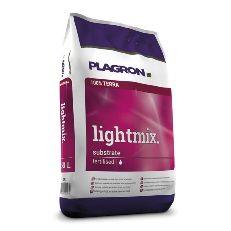 Plagron Light Mix 50L, terreau de croissance et floraison