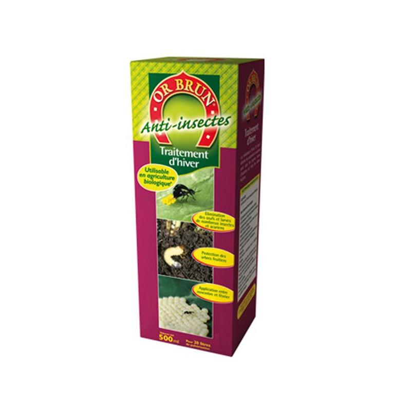 lutte insecte OR BRUN Traitement Hiver anti insectes concentré 500ml