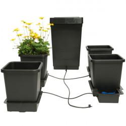 Autopot - Kit Autopot 4 pots 15L , système hydroponique sans pompe et électricité
