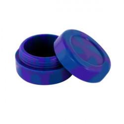 wax Boîte silicone diamètre 3,6 cm violette et bleue