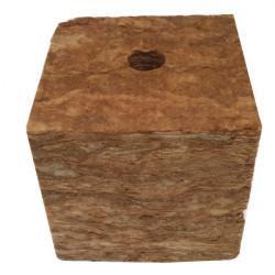 SpeedGrow Green - Cube laine de roche 20x20x20 cm Trou 38x35mm