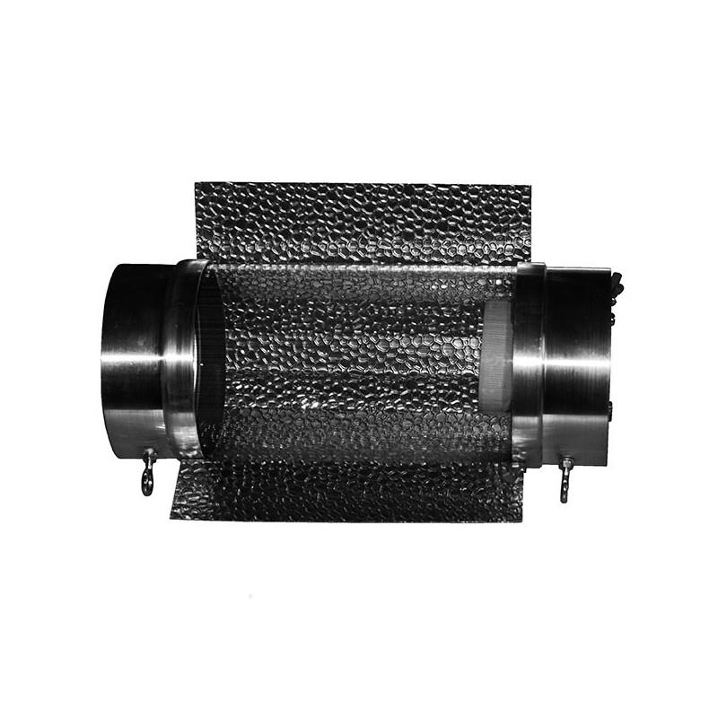 Réflecteur Mini COOLTUBE 125mm , Longueur 300mm, douille E40 ,réflecteur ext
