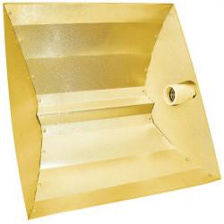 Superplant - Réflecteur PEBBLE-GOLD 50X50X15CM , ,douille E40, pour hps ou mh 150 à 1000w