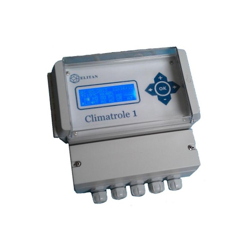 Elitan - Climatrole 1 , controlleur ventilation , extracteur d'air