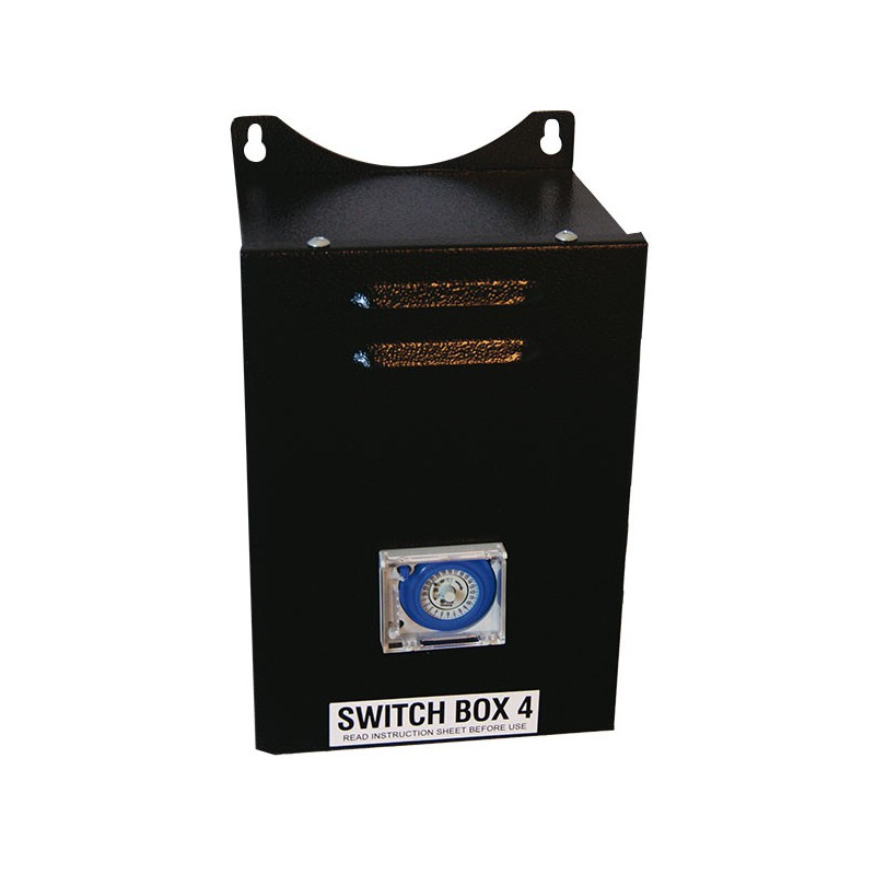 Timer Super Switch Box 4 , cultivez 2 espaces de cultures