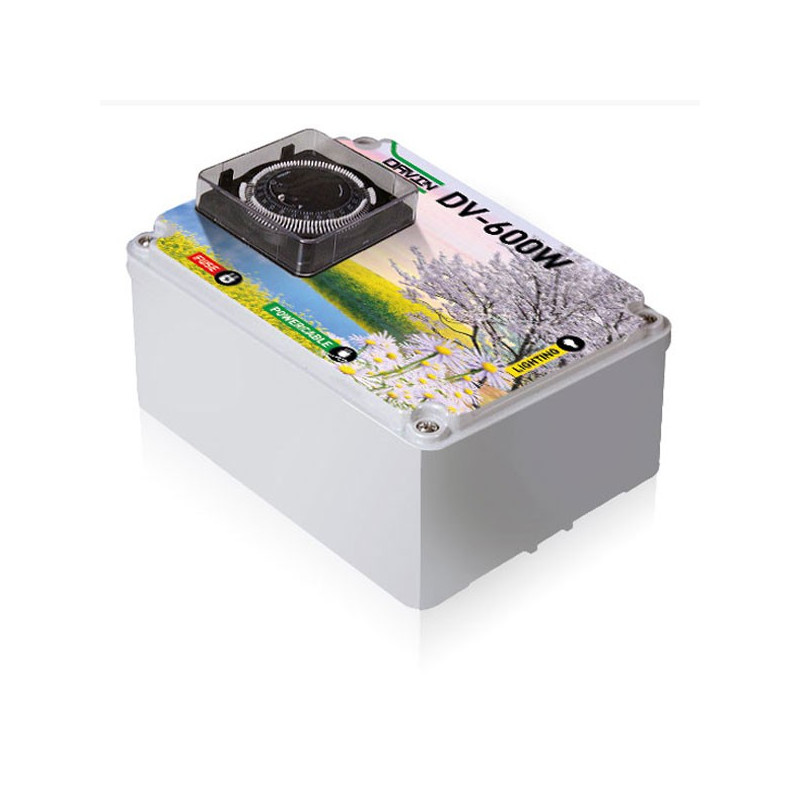 Timer DAVIN DV-600 1 x 600W , programmateur lampes de culture
