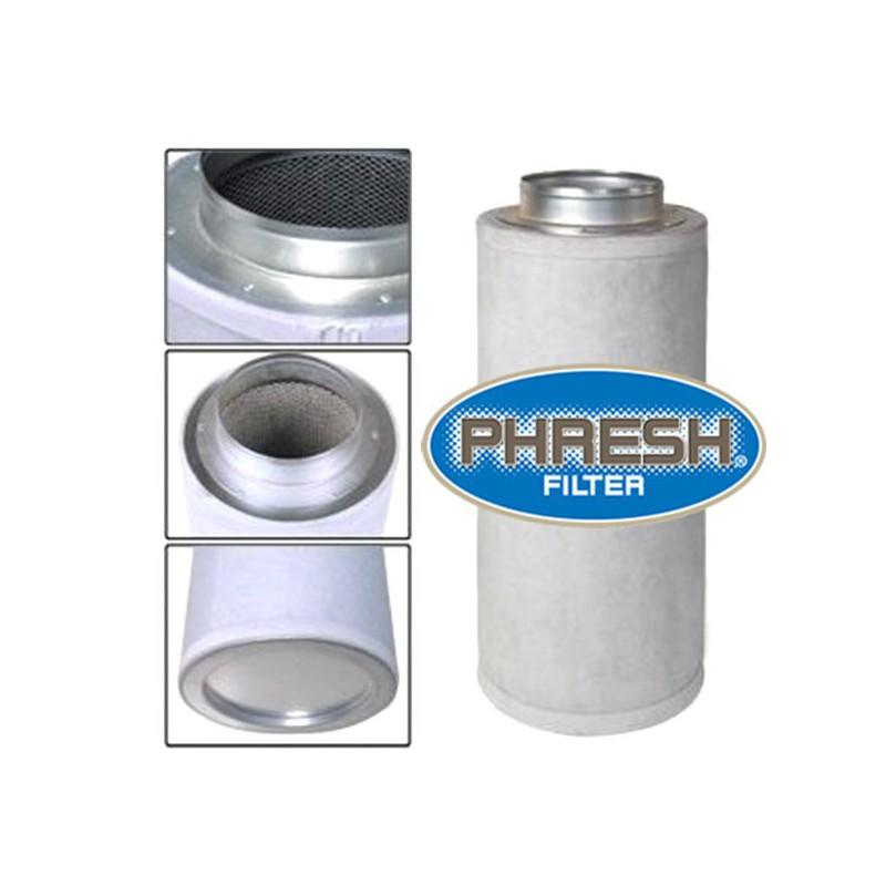 phresh filter filtre charbon 400m3 h 125x300mm filtre charbon actifs filtre les. Black Bedroom Furniture Sets. Home Design Ideas