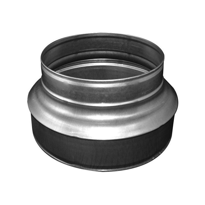 REDUCTEUR ACIER BASIC 200-150MM , conduit de ventilation