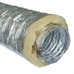 Gaine sono insonorisé (phonique) Ø100mm le mètre, conduit de ventilation