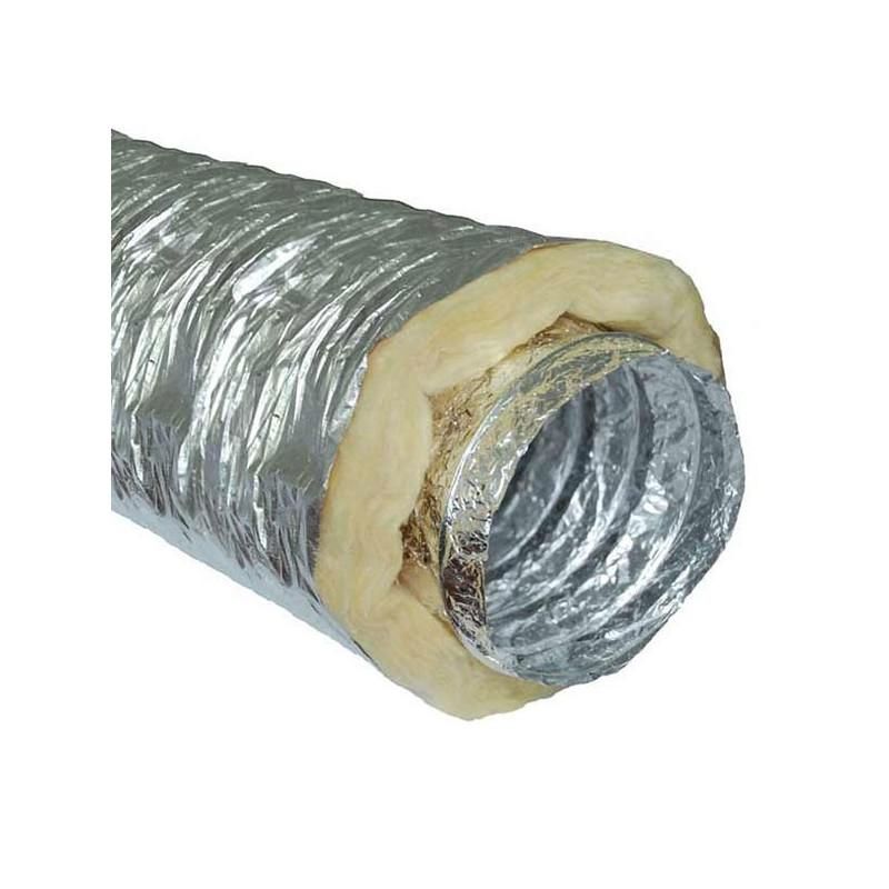 Gaine sono insonorisé (phonique) 100mm par 10 mètres conduit de ventilation