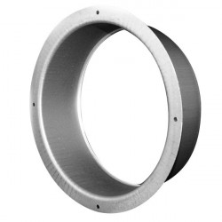 Flange galva 125mm , conduit de ventilation