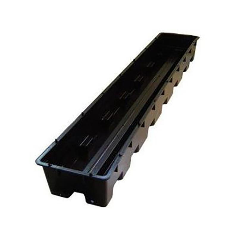 Bac libra 100x16x9.5cm + 2 pipes d'évacuation