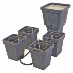 système hydroponique ACS waterpack 4pots + réservoir - général hydroponics