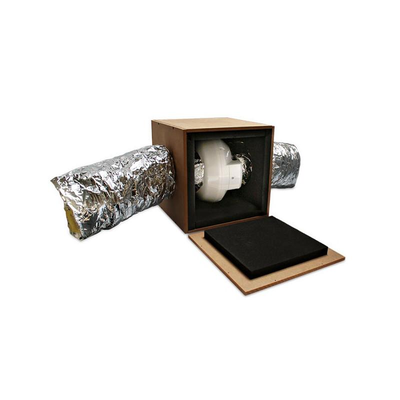 Isobox - Caisson à monter pour extracteur d'air Ø125mm
