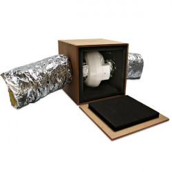 Isobox - Caisson à monter pour extracteur d'air Ø150mm