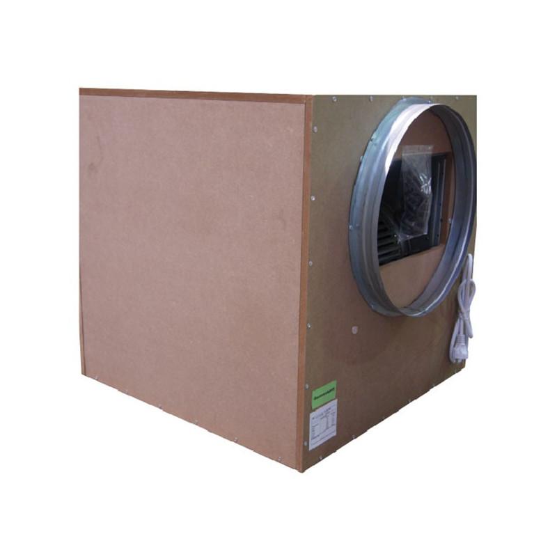 Winflex - Caisson extracteur d'air 160mm silencieux Sono-Box Bois S-vent 550m³/h 35x35cm