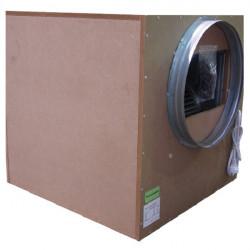 Winflex - Caisson extracteur d'air 250m³/h 125mm silencieux Sono-Box Bois S-vent