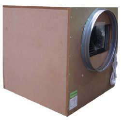 Winflex - Caisson extracteur d'air silencieux Sono-Box Bois S-vent 3250m³/h 250mm Ø315