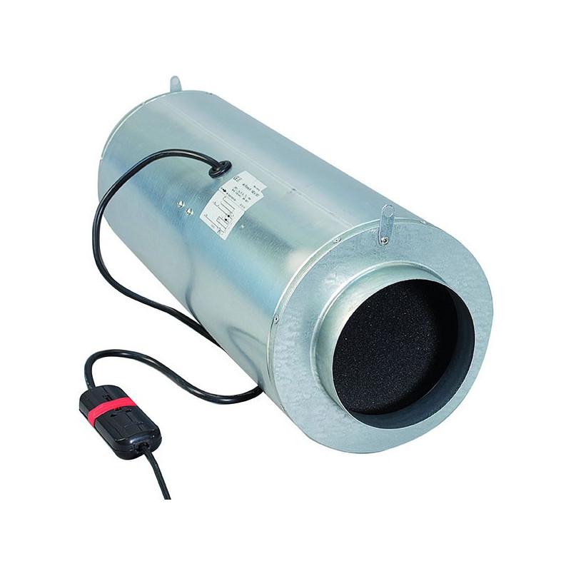 Can Filter - ISO-MAX 200mm 870m³/h extracteur , aérateur (insonorisé)