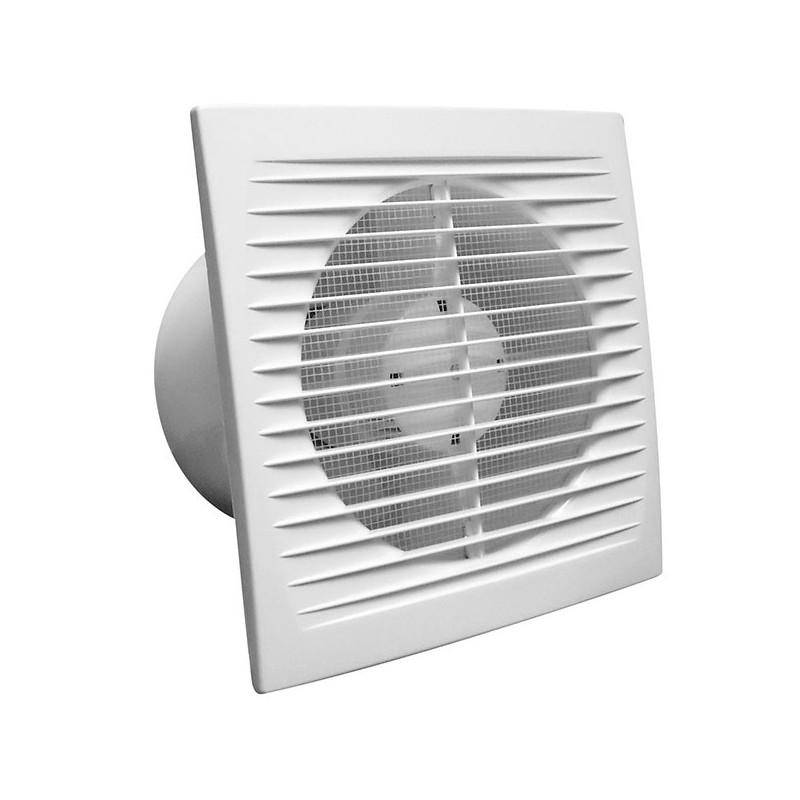 Extracteur d'air mural avec grille Winflex VKOs 150 mm 300 m3/h , ventilation