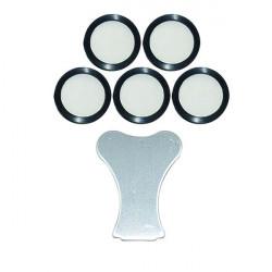 Winflex - Lot de 5 Membranes de rechange Teflon , pour brumisateur à ultrason