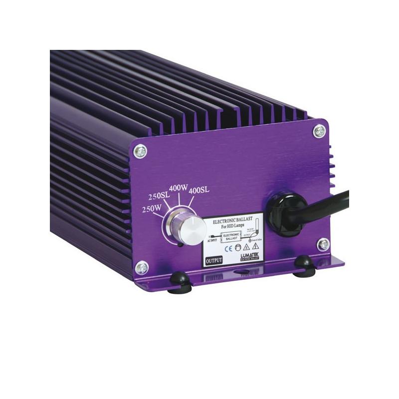 Lumatek - Ballast électronique 400W+ DIMMER , transformateur , ballast digital