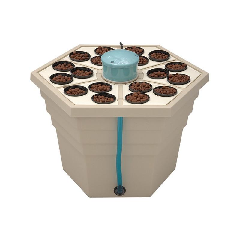 système aéroponique GHE - Rainforest 318 18 plantes -general hydroponics