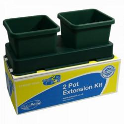 système hydroponique AutoPot extension 2 pots , sans pompe ni électricité