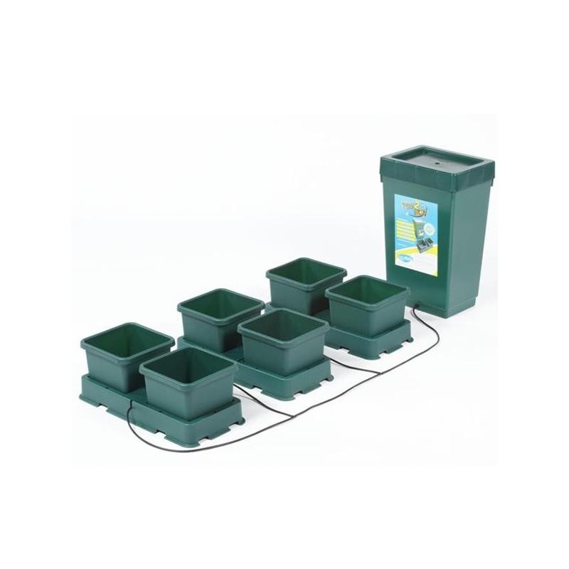 système hydroponique AutoPot - Kit Easy2Grow 6 pots 8.5L , sans pompe ni électricité