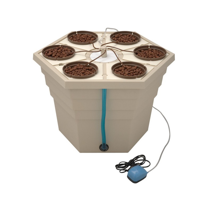 GHE - Ecogrower 6 plantes , système de culture hydroponique , aéroponique