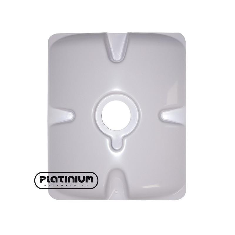 Platinium plaque Aéro 1 trou panier 5 cm , mousse neoprene 7 cm pour pot bato Mapito 30x25
