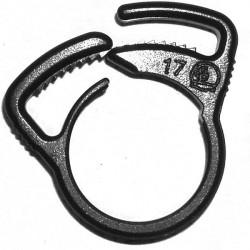Irrigation Collier clipsable de serrage 19mm tuyau PE-souple