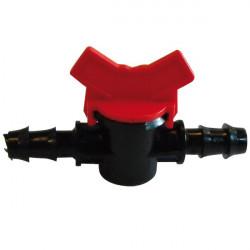 Vanne Robinet d'arrêt 20mm irrigation tuyau PE-souple