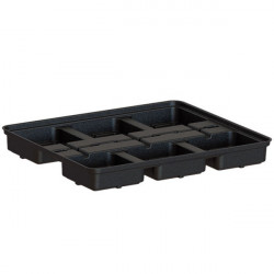 Tray Platinium Modular 60 , table de culture 6 pots 18x18
